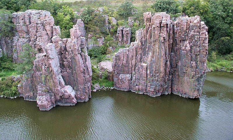 Palisades State Park in Sioux Falls, South Dakota