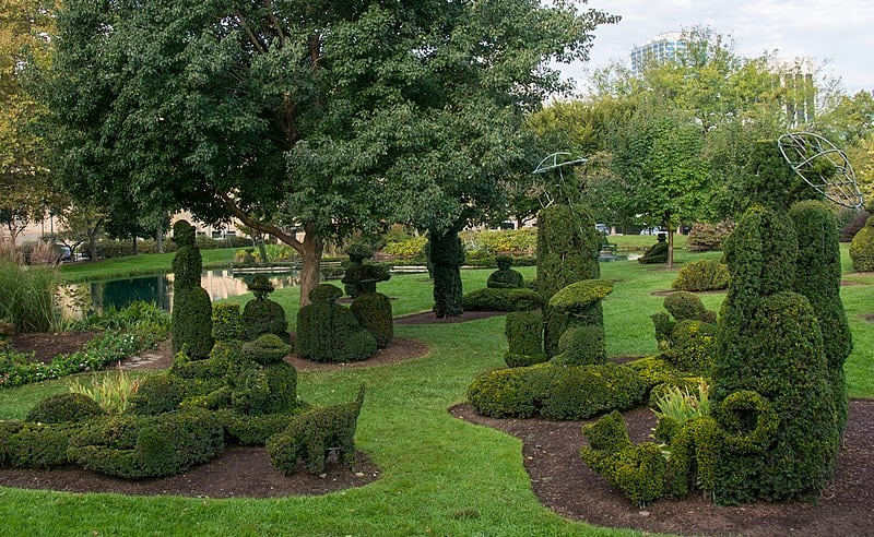 Topiary Garden, Columbus, Ohio