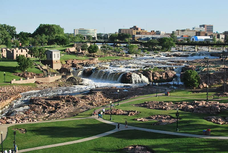 Where is Sioux Falls, South Dakota