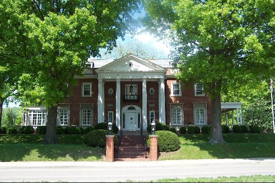 Governor's Mansion in Charleston, West Virginia