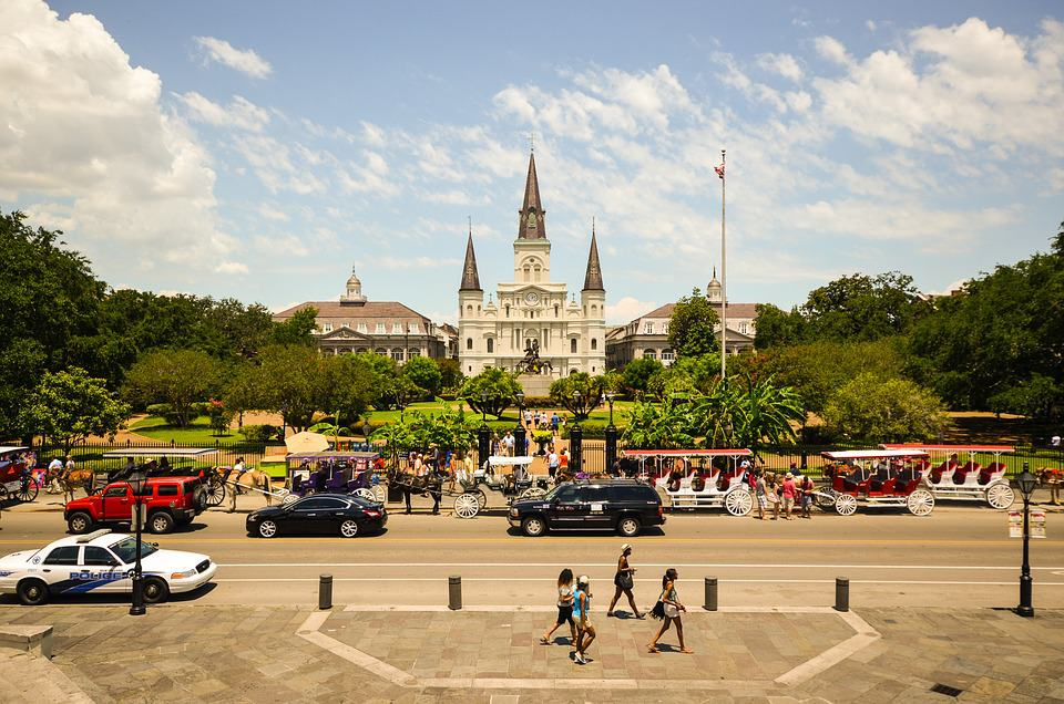 Jackson Square - Free Things to Do in New Orleans, Louisiana