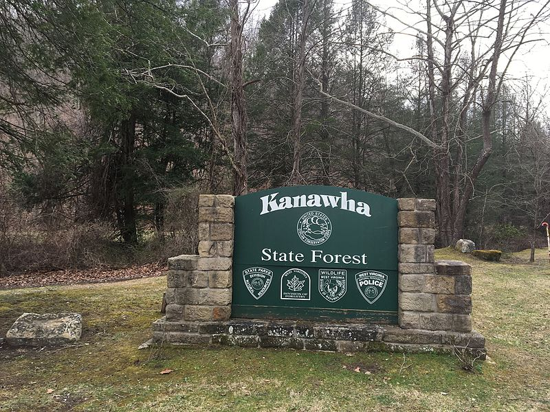 Kanawha State Forest in Charleston, West Virginia