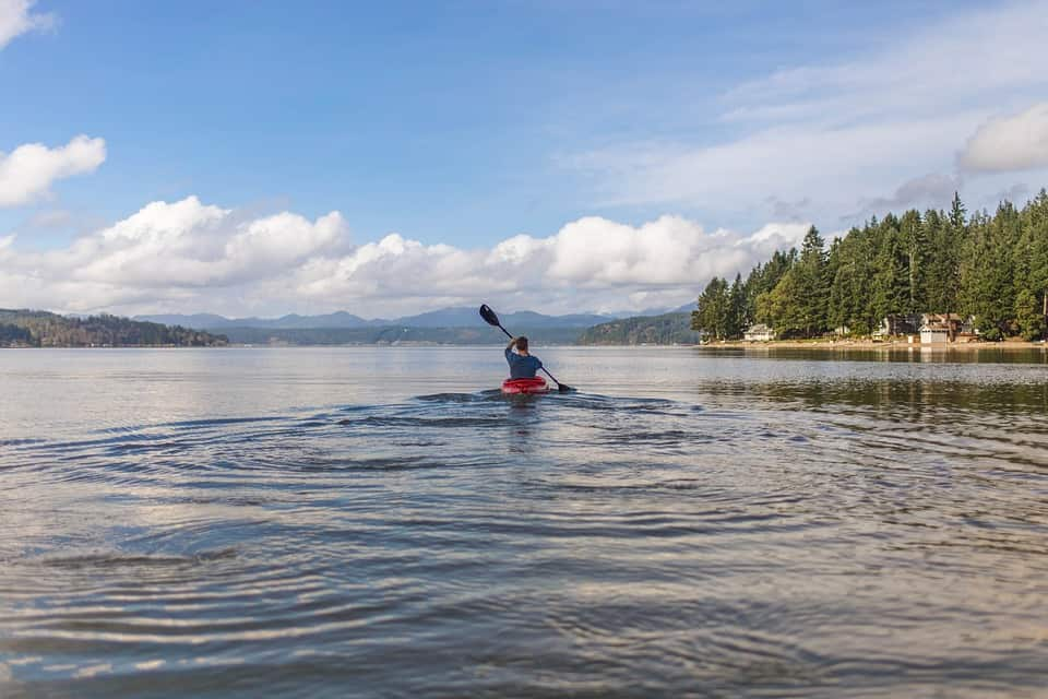 Kayaking - Family Friendly Things to Do When You're Bored and Can't Travel