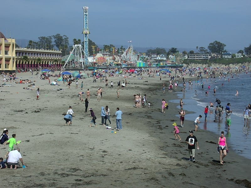 Santa Cruz Beach - Free Things to Do in San Jose, California