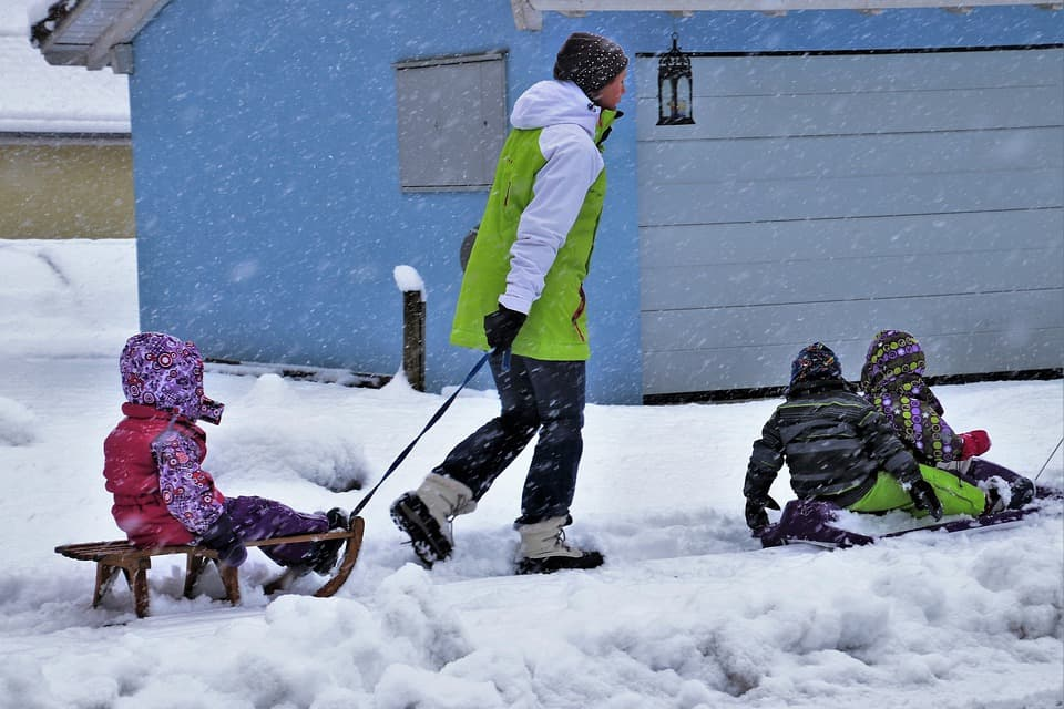 Sledding - Best Things to Do with Kids Near Me