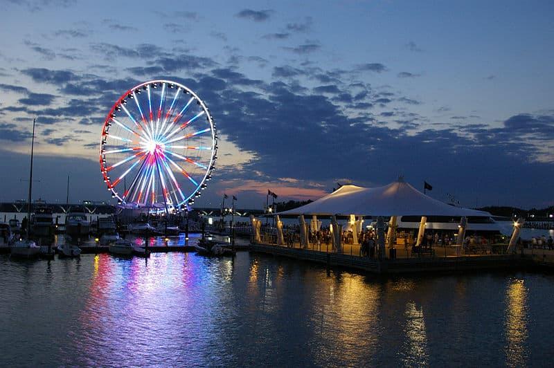 Take a Ride on the Big Ferris Wheel
