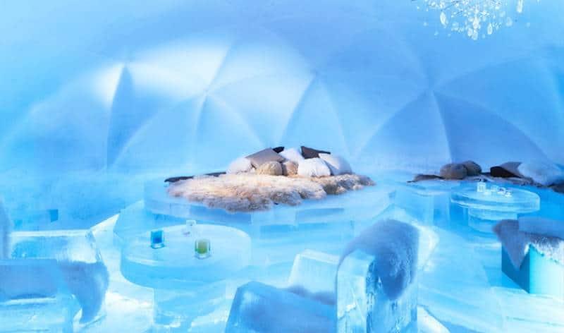 Ice Hotel, Hokkaido, Japan