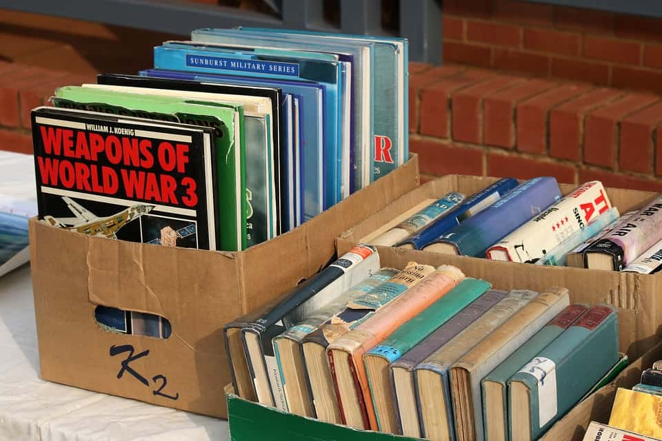 Books, Flea market