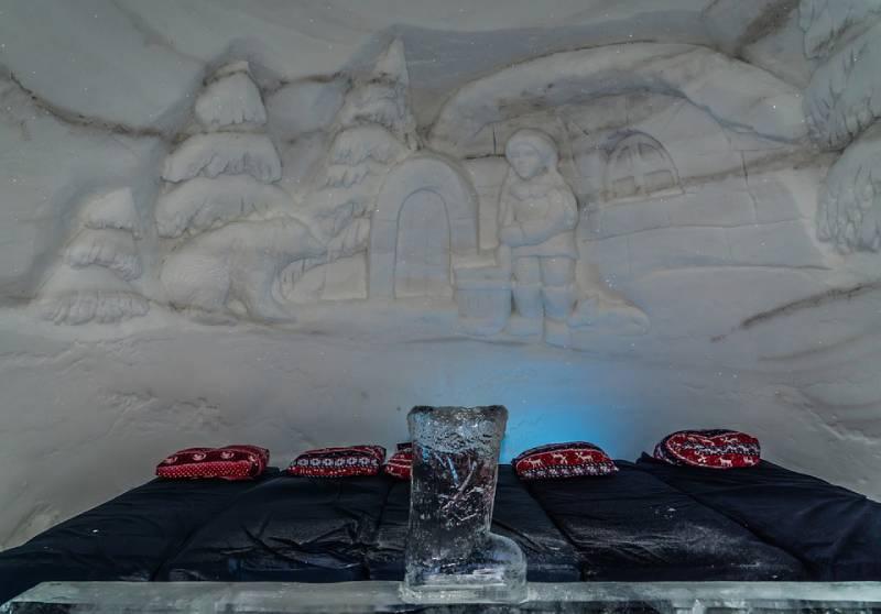 Kirkenes Snowhotel, Sor-Varanger, Norway