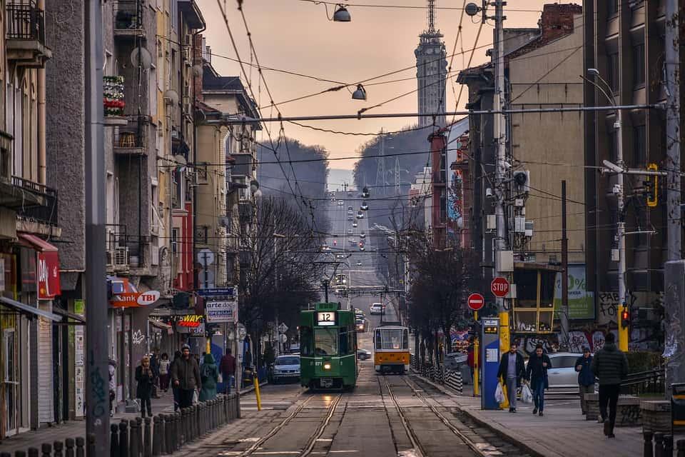 tram-in-sofia