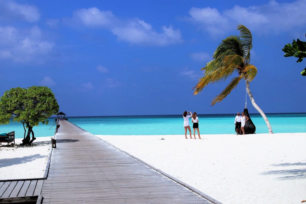 traveling in Maldives