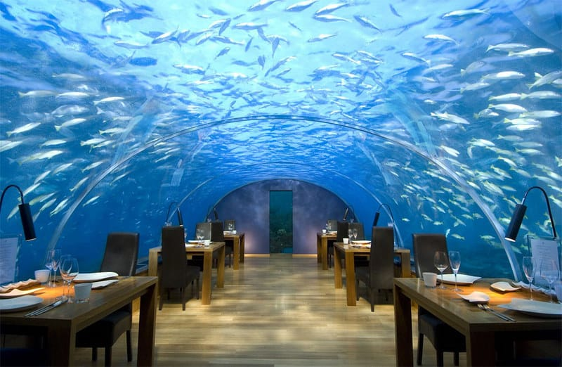 underwater restaurant