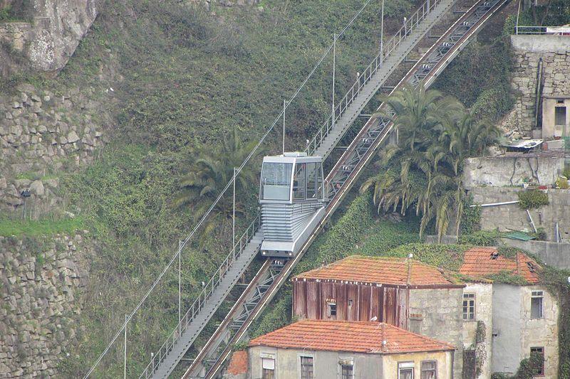 Guindais Funicular, Porto, Portugal