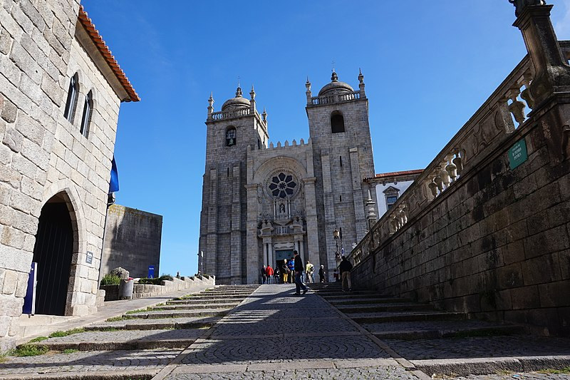 Porto Cathedral, Porto, Portugal